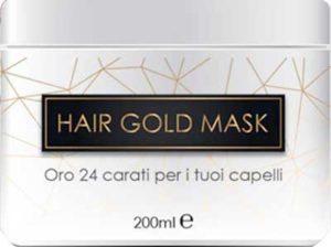 hair gold mask trattamento rinforzante capelli