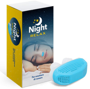 nightrelax dispositvo per non russare
