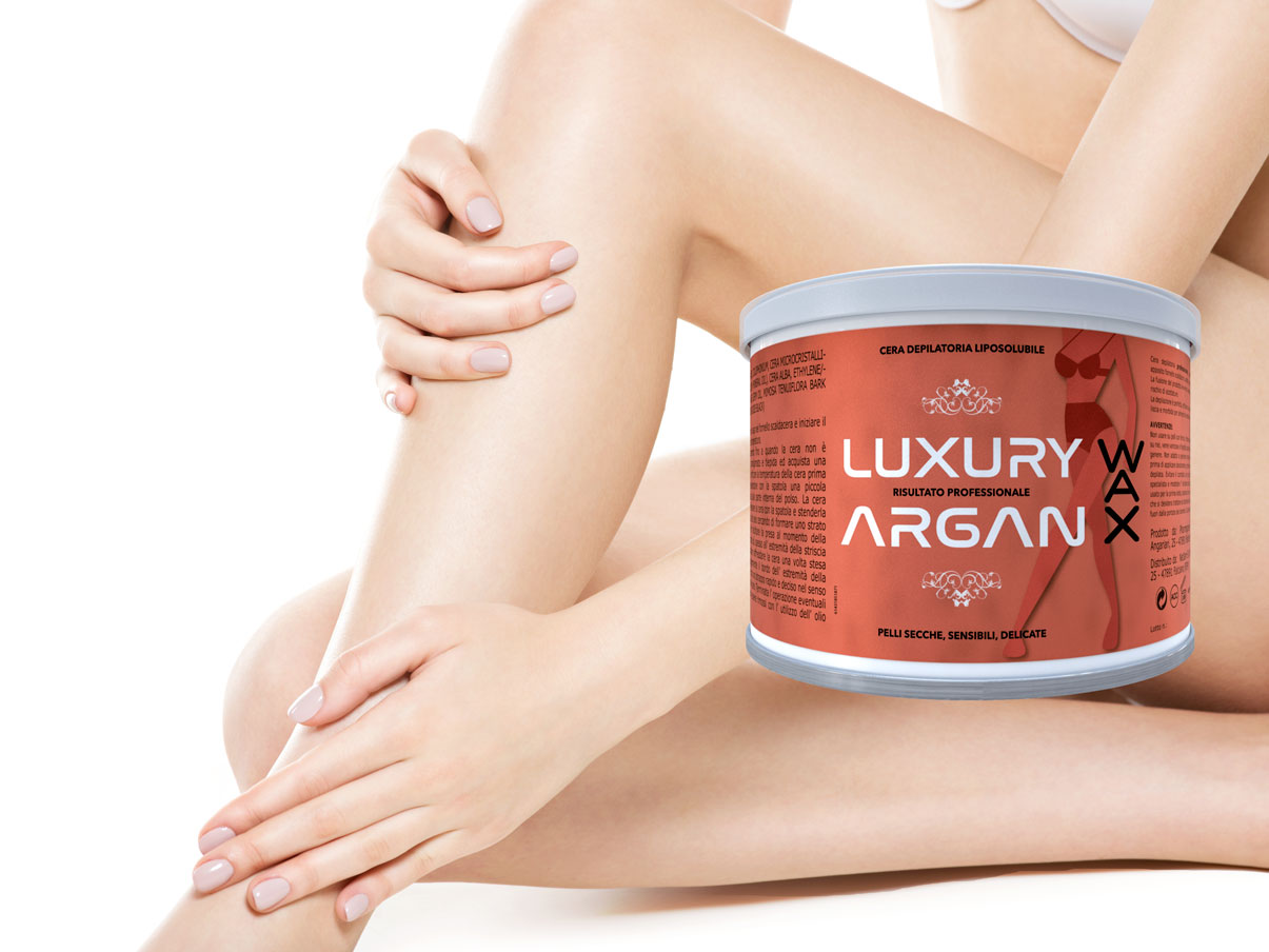 argan wax ceretta
