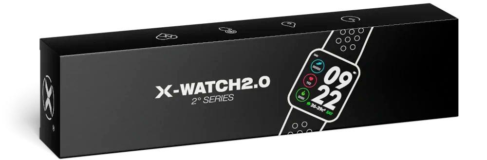 x watch smartwatch multifunzione