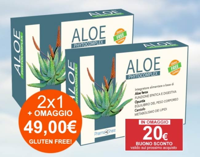 aloe phytocomplex compresse