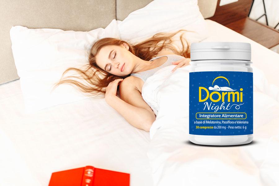 dormi night integratore naturale