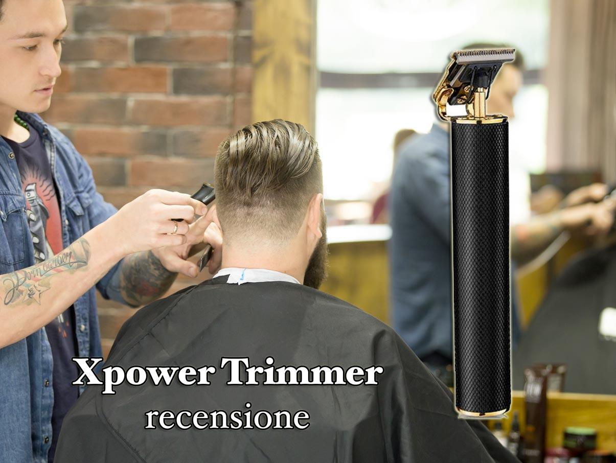 xpower trimmer rasoio