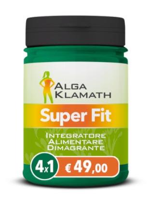 integratore Alga Klamath Super Fit