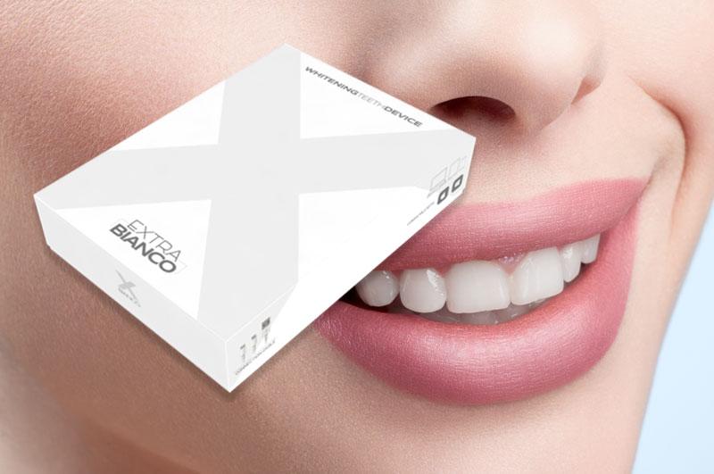 extra bianco kit sbiancante denti
