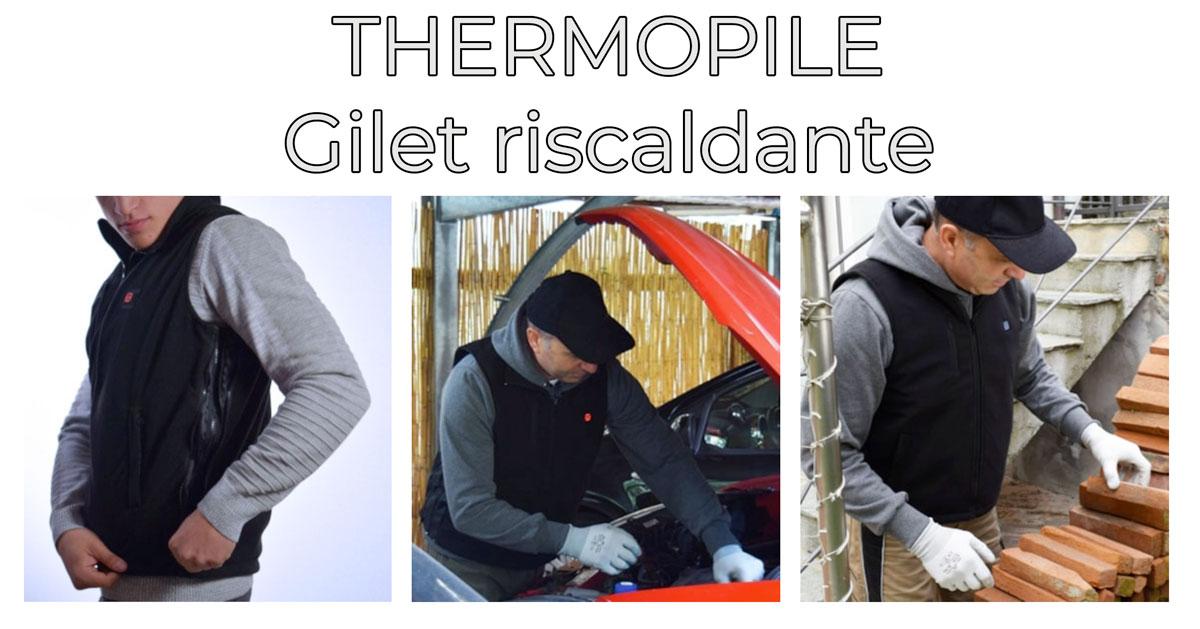 thermopile gilet riscaldante
